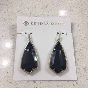 Kendra Scott Carla Blue Goldstone Earrings